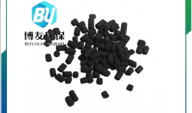 """煤质柱状活性炭""""对原油中超标硫醇进行脱除"""""""