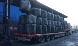 「2019」出口苏丹72吨椰壳活性炭发货现场