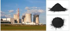 「使用现场」山西省某发电厂选用废气处理用木质粉状活性炭